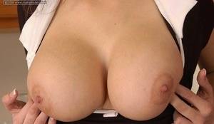 Very first timer with a smiley face uncovers her nice tits before finger fucking