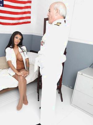 Naughty vixen in stockings Angelina Valentine gets fucked xxx